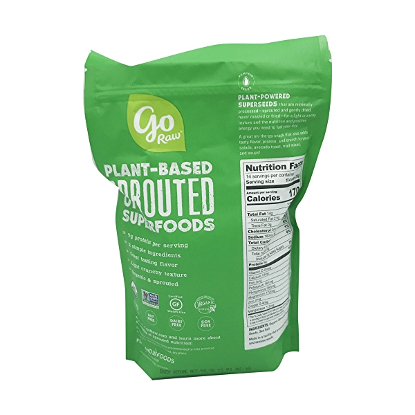 Sprouted Pumpkin Seeds, 14 oz 2