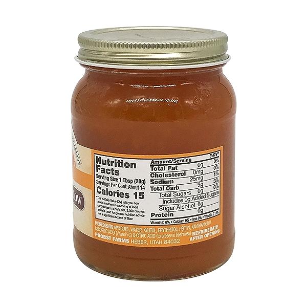 Sugar Free Apricot Preserves, 10 oz 2