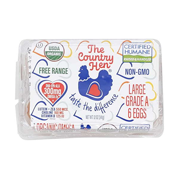 Organic Large Eggs, 12 oz 1