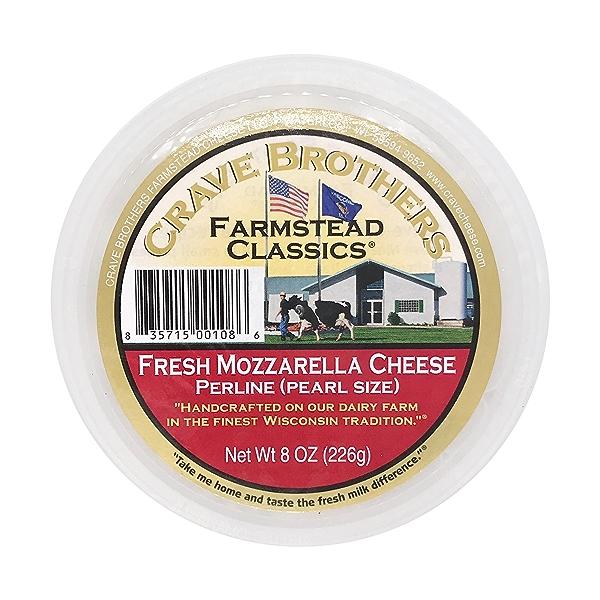Fresh Mozzarella Cheese Perlines 1