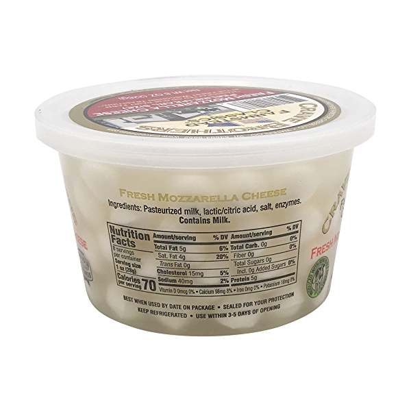 Fresh Mozzarella Cheese Perlines 3