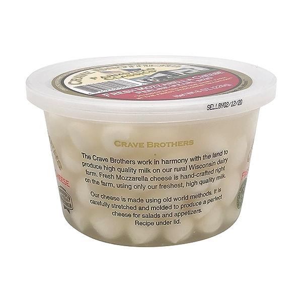 Fresh Mozzarella Cheese Perlines 5