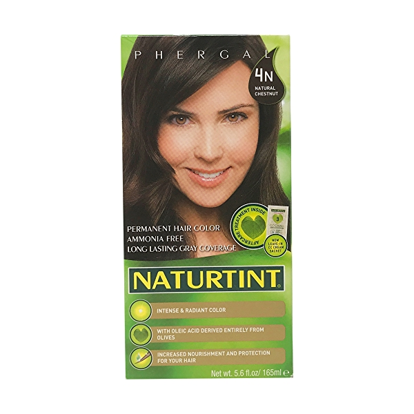 4N Natural Chestnut Permanent Hair Color, 5.6 fl oz 1