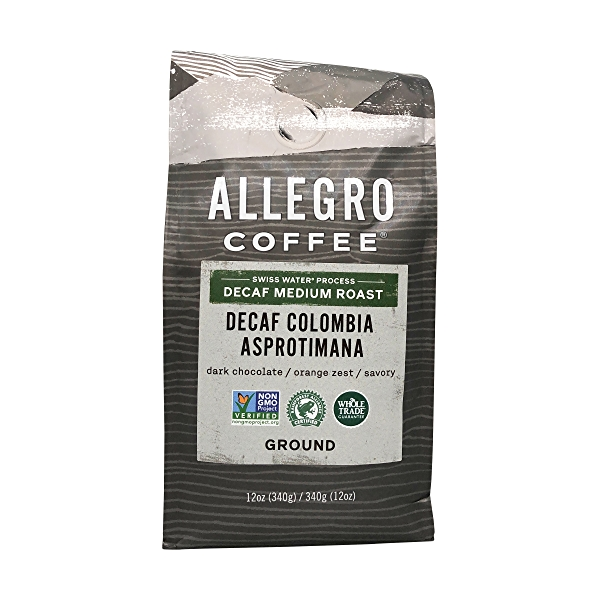 Decaf Colombia Ground Coffee, 12 oz 1