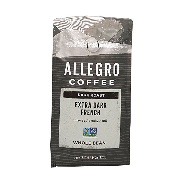 Extra Dark French Whole Bean Coffee, 12 oz 1
