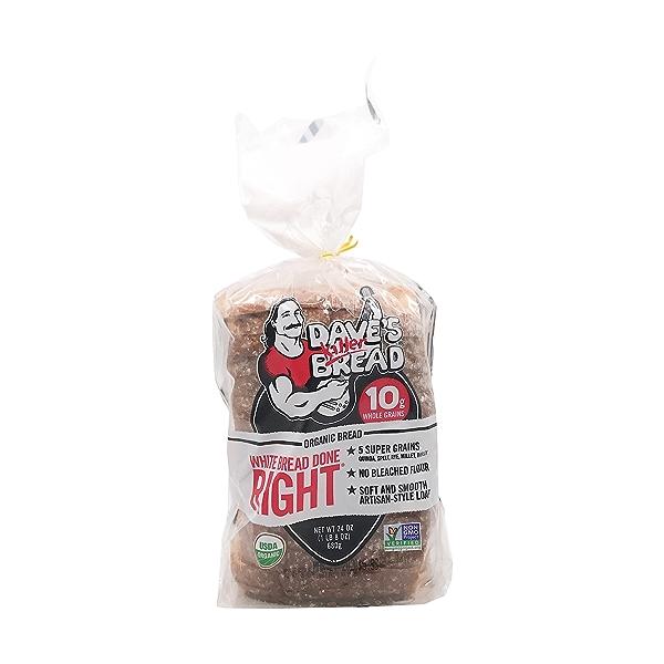 Organic White Bread Done Right, 24 oz 1
