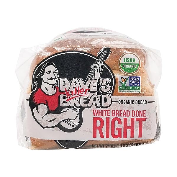 Organic White Bread Done Right, 24 oz 5