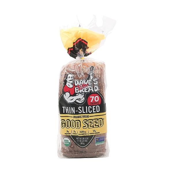 Organic Good Seed Thin-sliced Bread, 20.5 oz 1