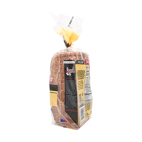 Organic Good Seed Thin-sliced Bread, 20.5 oz 2
