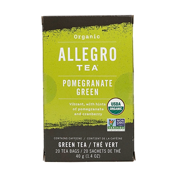 Organic Pomegranate Green Tea, 1.4 oz 1