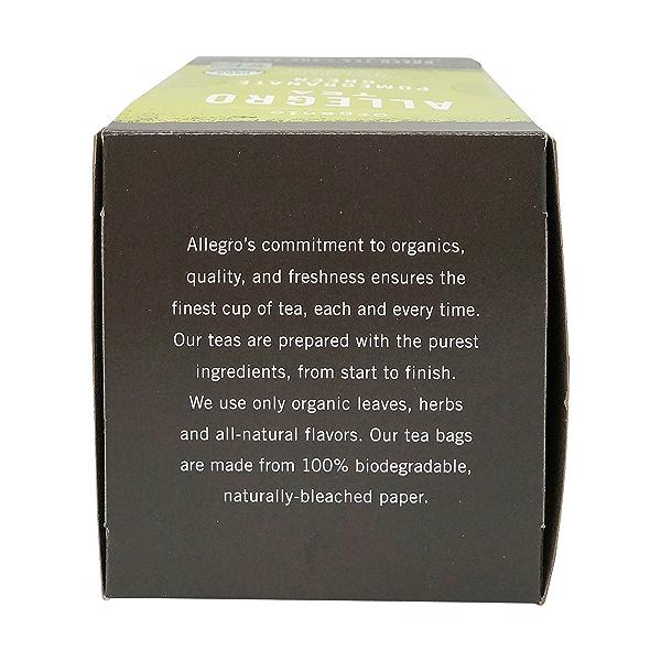 Organic Pomegranate Green Tea, 1.4 oz 5