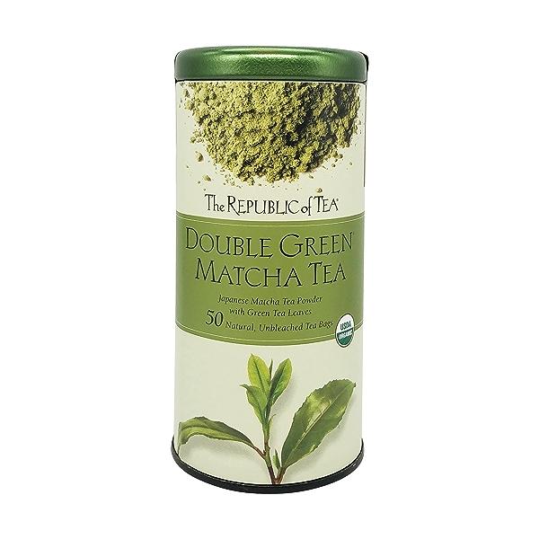 Double Green Matcha Tea, 2.65 oz 1