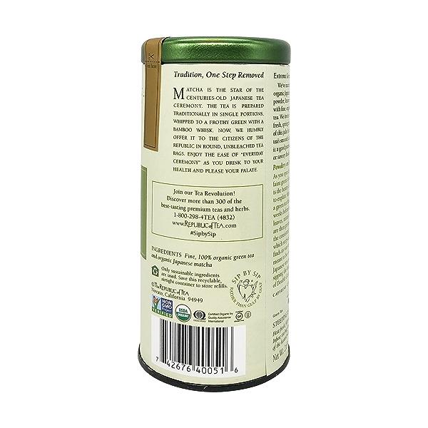 Double Green Matcha Tea, 2.65 oz 2