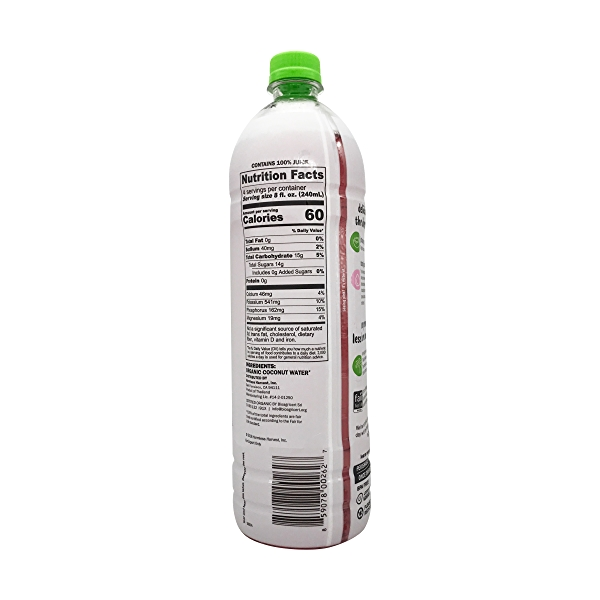 Organic Coconut Water, 32 fl oz 2