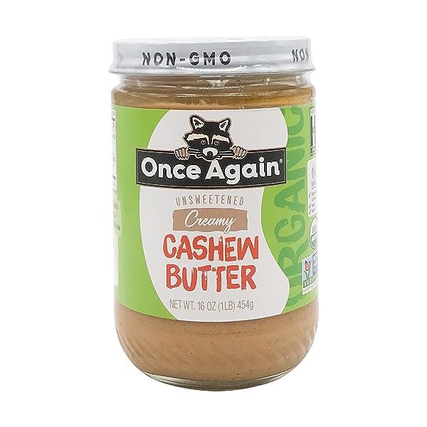 Organic Creamy Cashew Butter 1