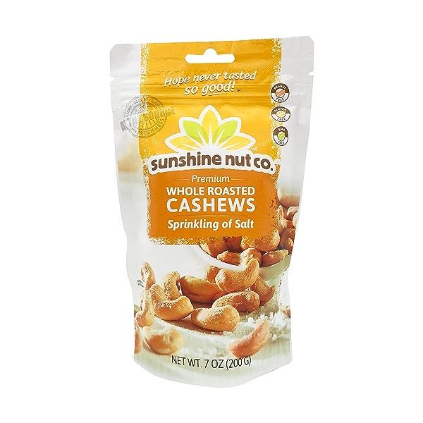Roasted Salted Cashews, 7 oz 1