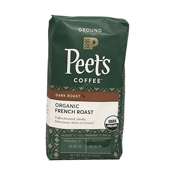 Organic French Ground Coffee, 10.5 oz 1