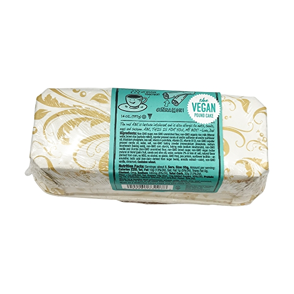Vegan Coffee Pound Cake, 14 oz 3