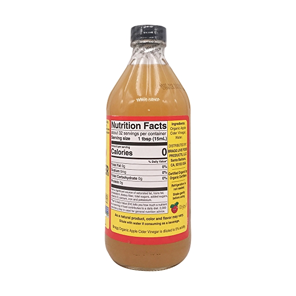 Raw Unfiltered Apple Cider Vinegar With The 'Mother', 16 fl oz 2