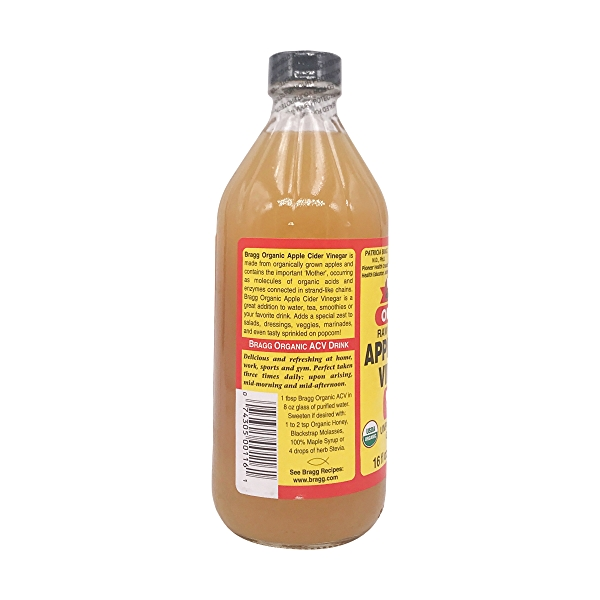 Raw Unfiltered Apple Cider Vinegar With The 'Mother', 16 fl oz 3