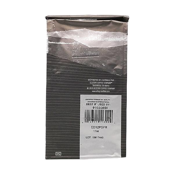 Organic Decaf French Roast Ground Coffee, 12 oz 3