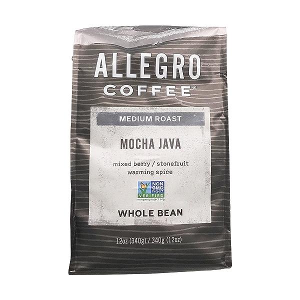 Mocha Java Whole Bean Coffee, 12 oz 5