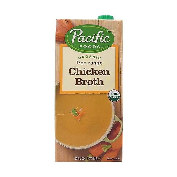 Organic Free Range Chicken Broth, 32 fl oz 1