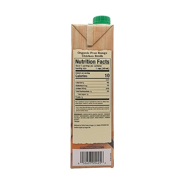 Organic Free Range Chicken Broth, 32 fl oz 2