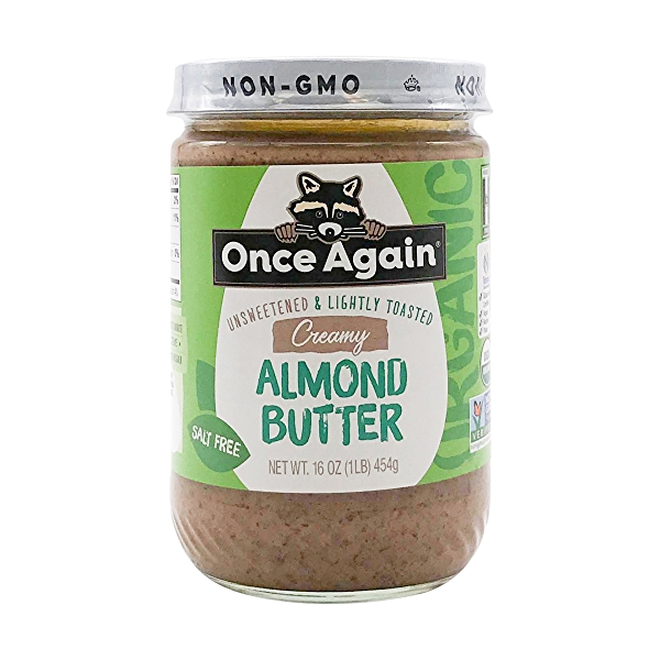 Creamy Lightly Toasted Almond Butter, 16 oz 1