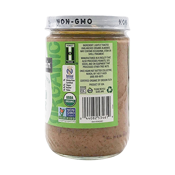 Creamy Lightly Toasted Almond Butter, 16 oz 3