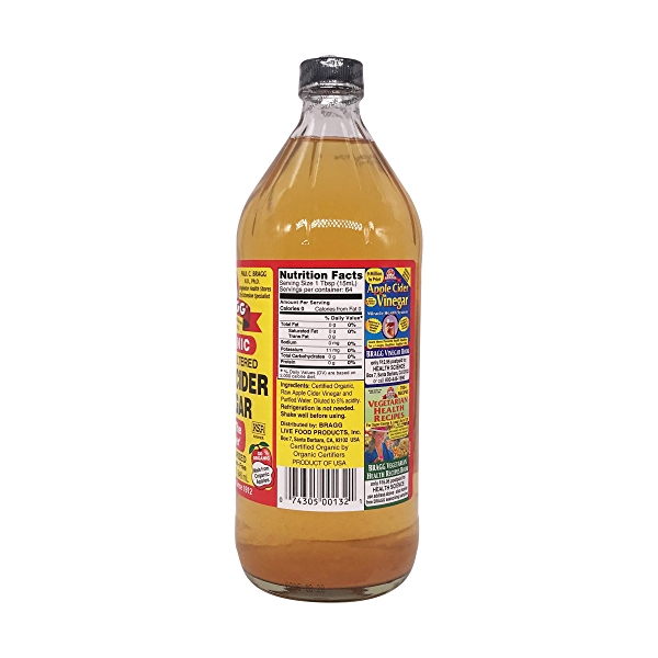 Organic Apple Cider Vinegar, 32 fl oz 2