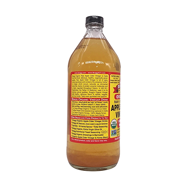 Organic Apple Cider Vinegar, 32 fl oz 3