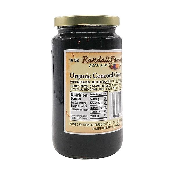 Organic Concord Grape Jelly, 18 oz 2