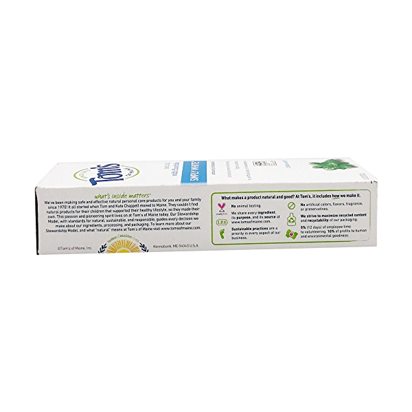 Simply White Clean Mint Toothpaste, 4.7 oz 5