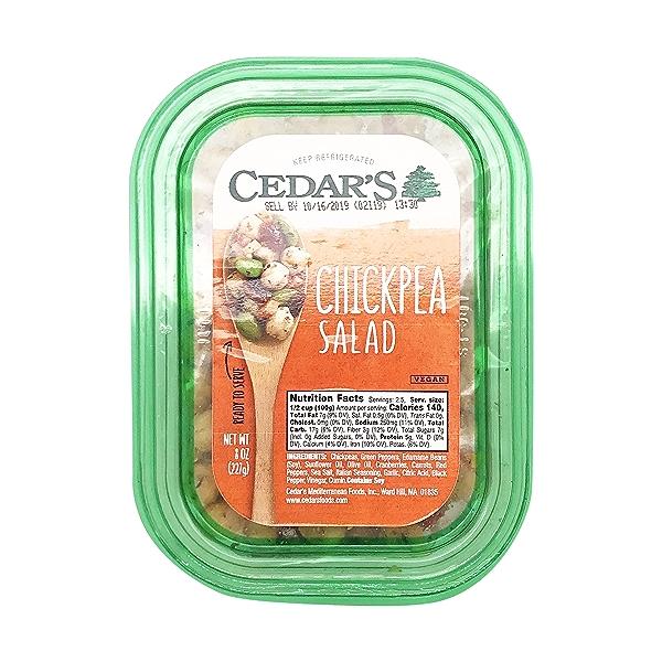 Chickpea Salad, 8 oz 1