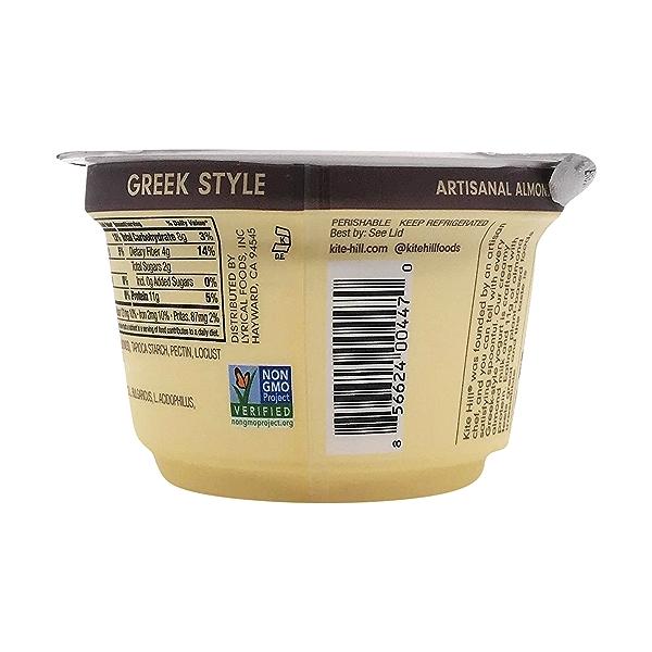 Plain Unsweetened Almond Milk Greek Yogurt, 5.3 oz 4