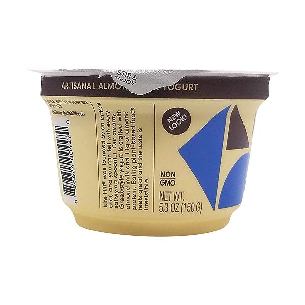 Plain Unsweetened Almond Milk Greek Yogurt, 5.3 oz 5