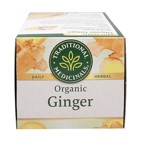 Organic Fair Trade Ginger Herbal Tea, 0.85 oz 5