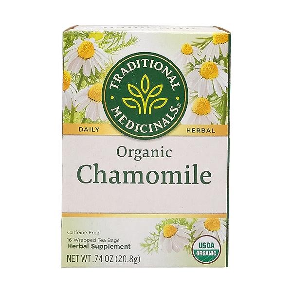 Organic Chamomile Herbal Tea, 0.74 oz 1