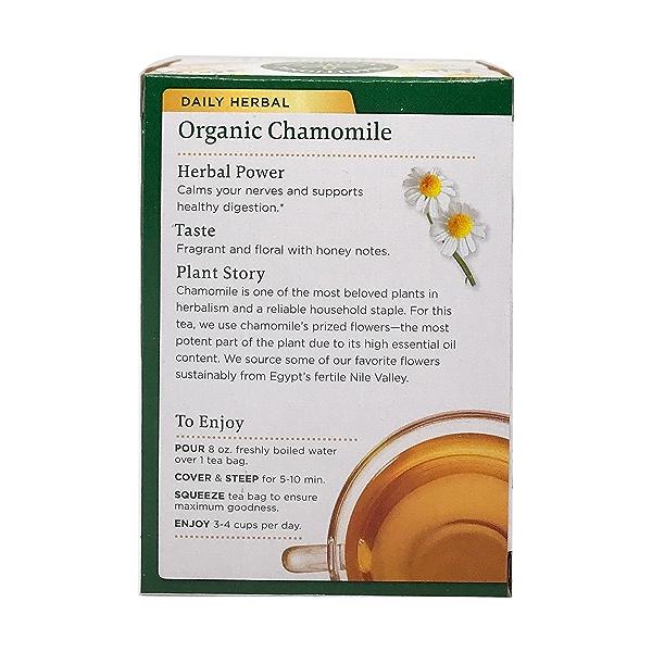 Organic Chamomile Herbal Tea, 0.74 oz 2
