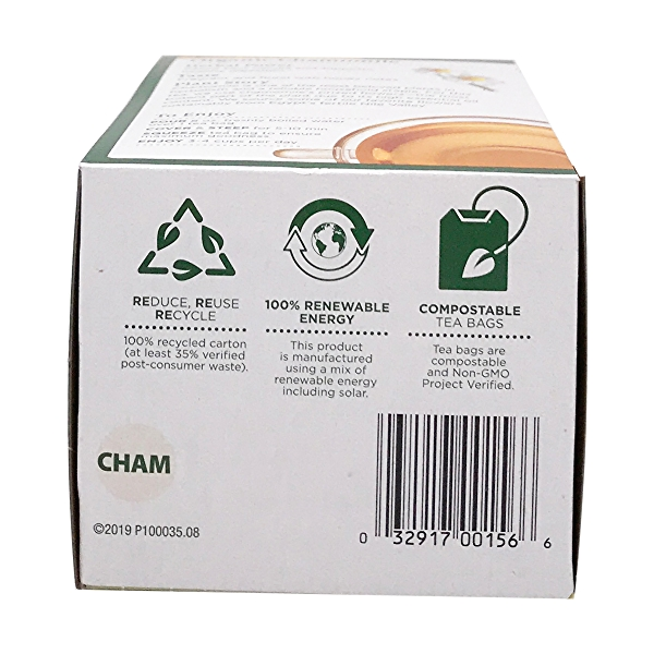 Organic Chamomile Herbal Tea, 0.74 oz 6