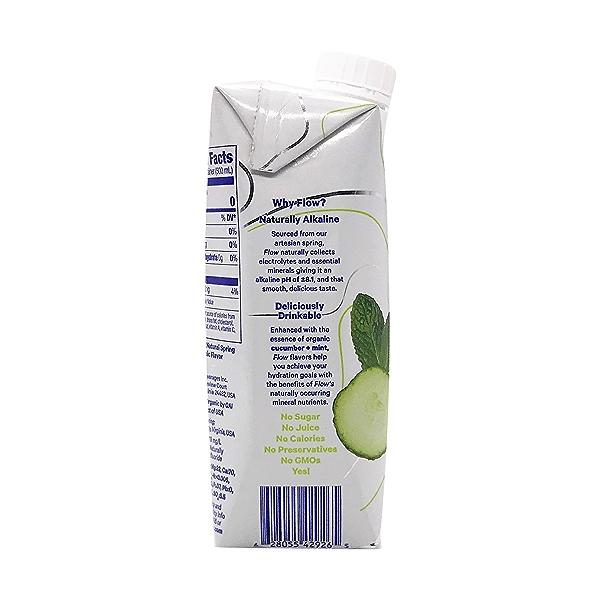 Organic Cucumber Mint Spring Water, 16.9 fl oz 3