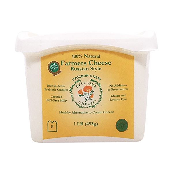 Farmers Cheese Russian Style 1