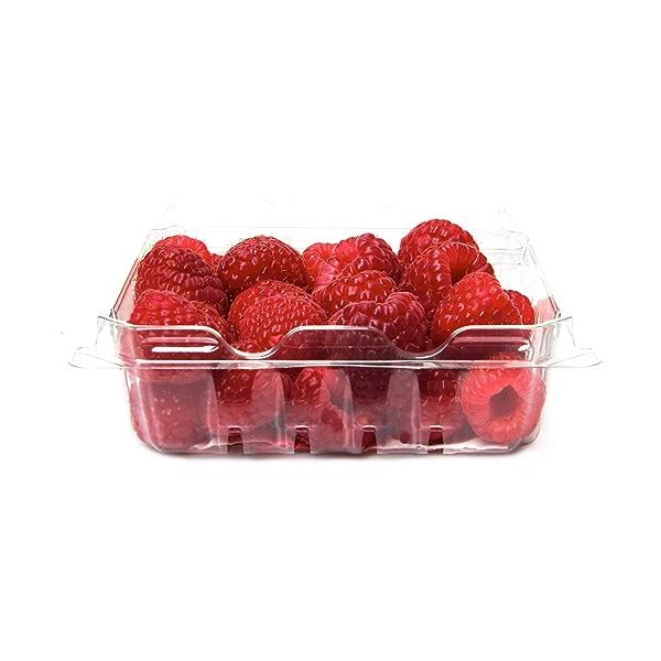 Organic Raspberries Half Pint 1