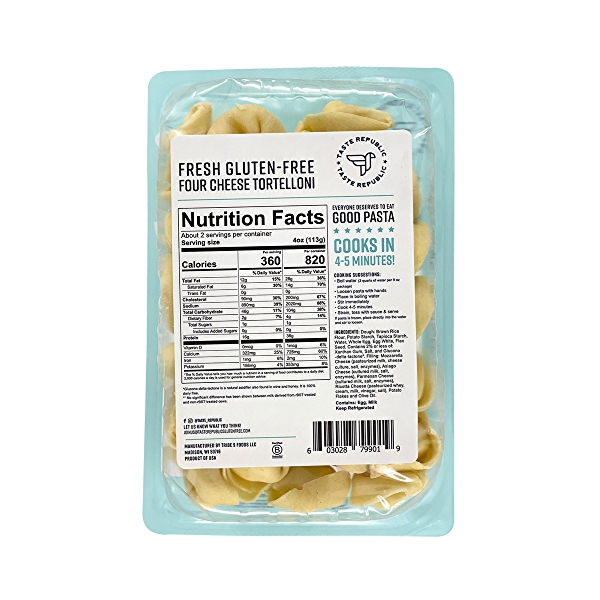 Gluten-free 4-cheese Tortellini Pasta, 9 oz 2