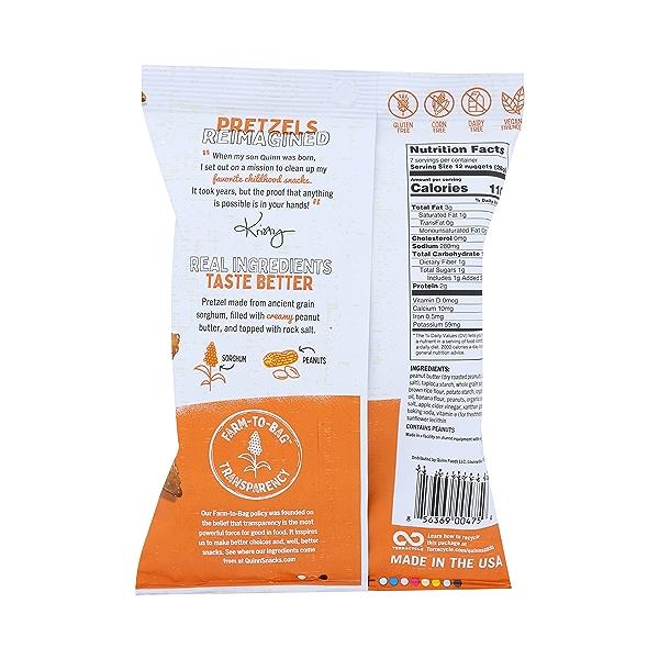 Peanut Butter Filled Pretzels, 7 oz 2
