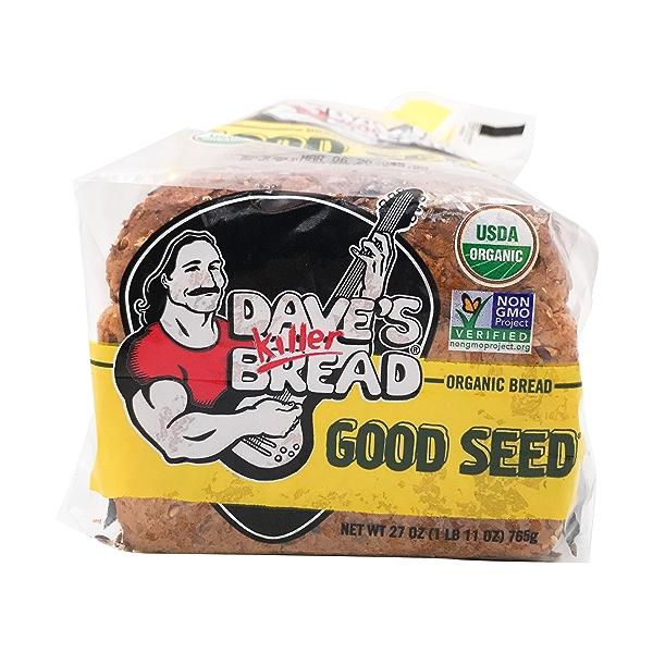 Organic Good Seed Bread, 27 oz 5
