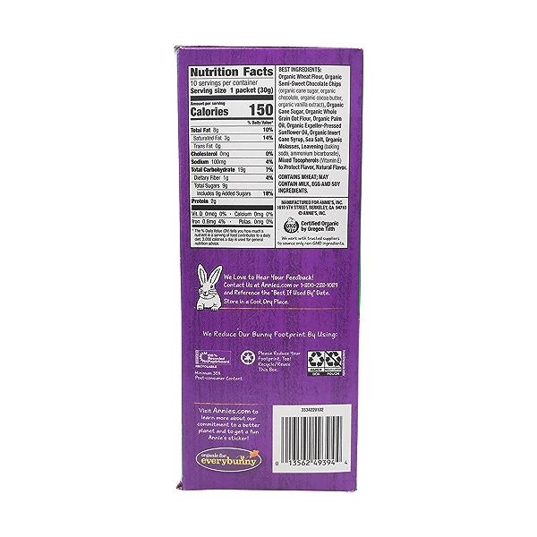 Organic Choc Chip Cookie Bites 10pk, 10.5 oz 3
