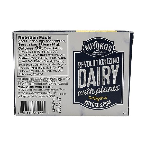 Organic European Cultured Vegan Butter, 8 oz 2