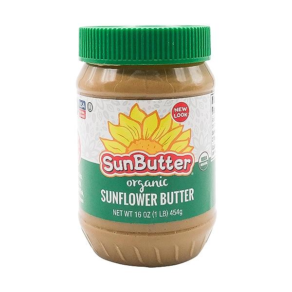 Organic Sunflower Butter, 16 oz 1